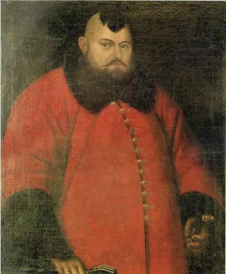 Портрет невідомого в червоній шубі