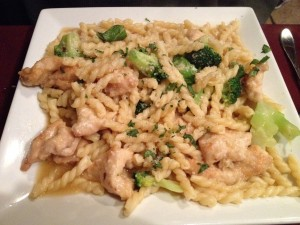 Chicken, Broccoli and Fusilli