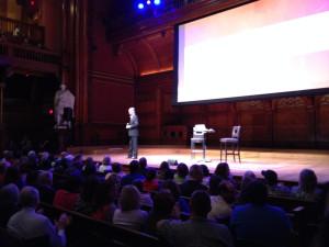 Chris Kimball at the Sanders
