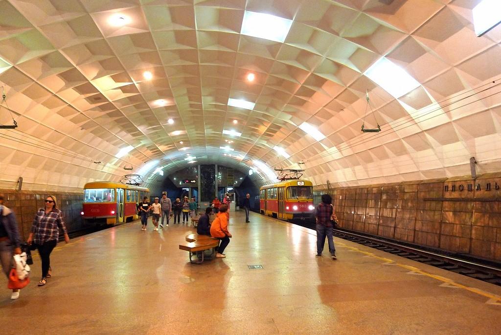 волгоградский метротрам фото часы представит