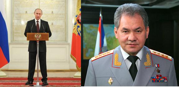 Путин и Шойгу врут фото