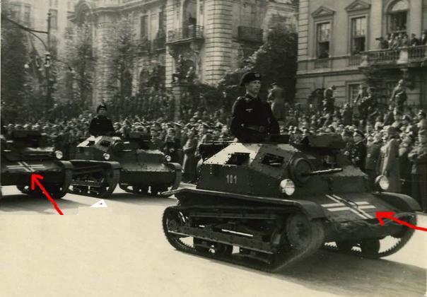 Польские гусеницы (и колеса) Третьего Рейха.