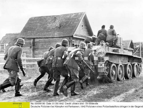 Трофейные танки БТ-7 в панцерваффе.