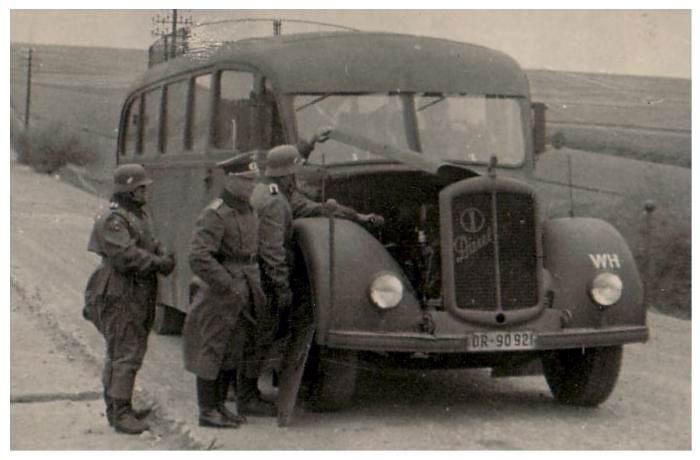 Автобусы для Вермахта