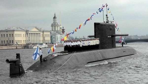 парад кораблей и лодок