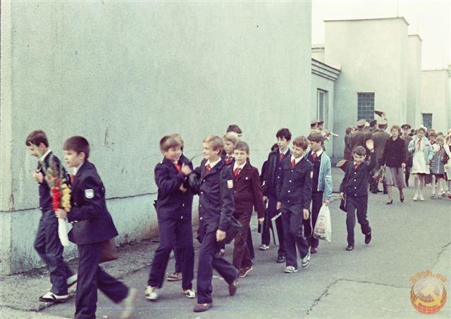 школьники 80х