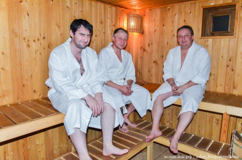 В русской бане женщины с мужиками — pic 11