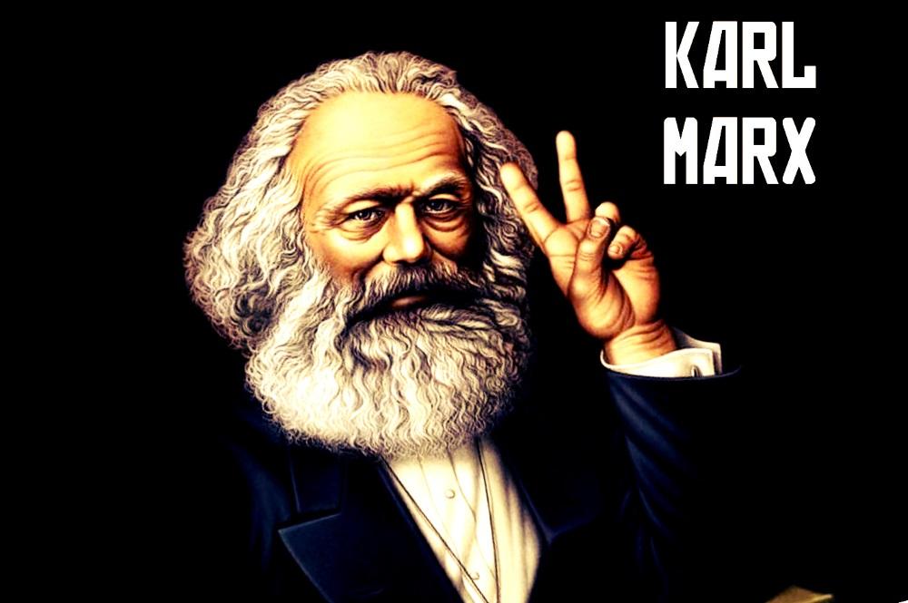 карл маркс смешные картинки людей едут сюда