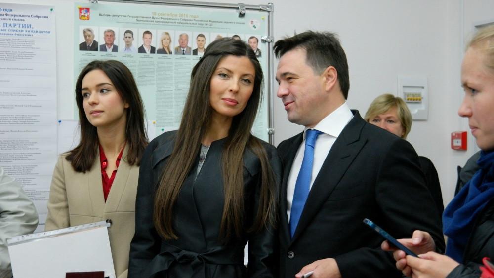 фото воробьева губернатора московской области