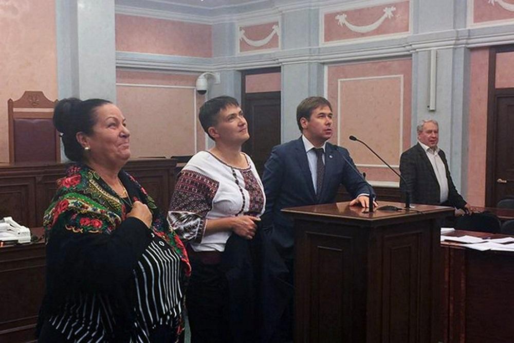 Наглая выходка Савченко?