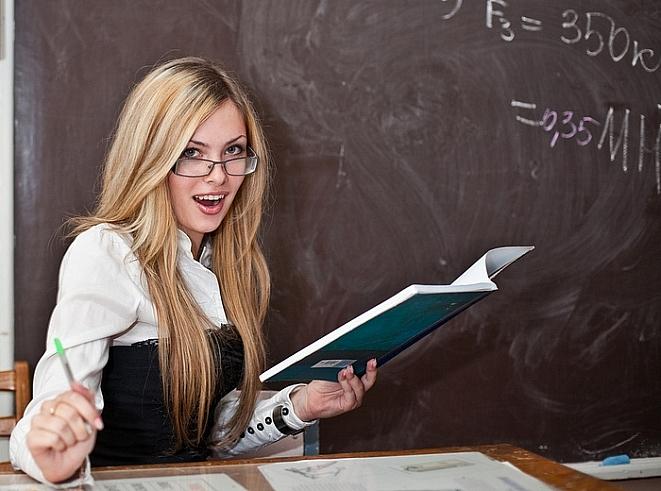 Фото девушки учителя 67512 фотография