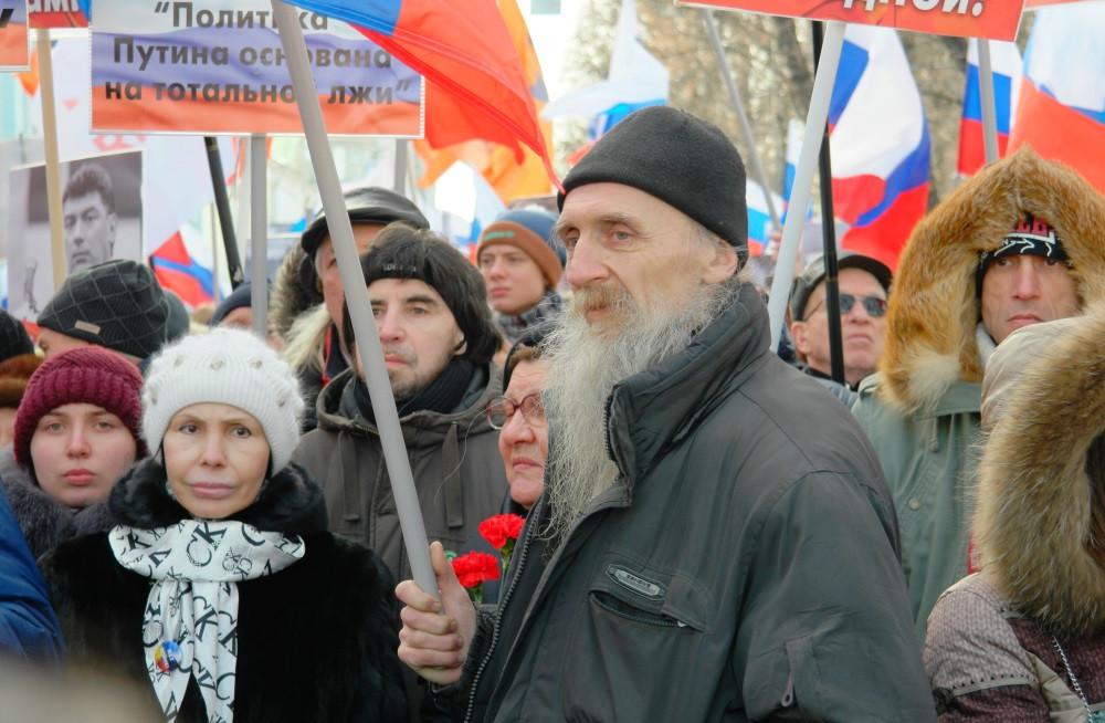 Марш памяти Немцова. Фоторепортаж