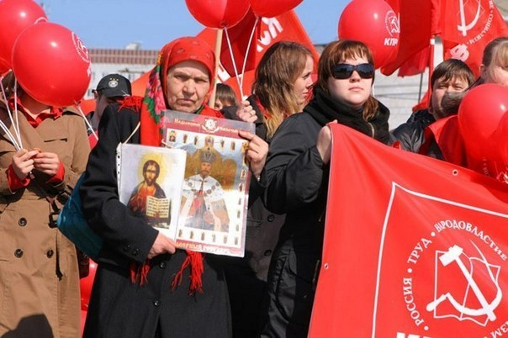 Ленин и мощи святых
