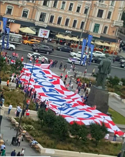 Хорватские болельщики извинились за Виду
