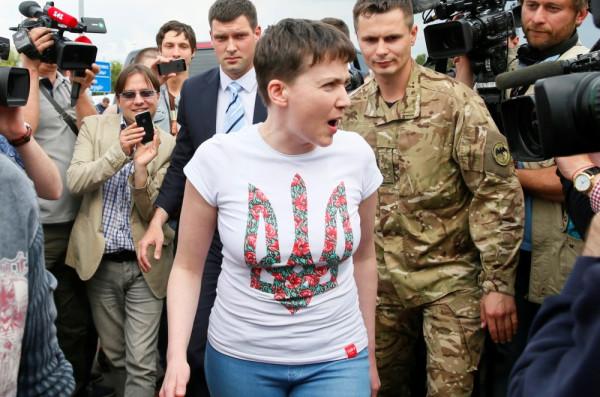 Неожиданно освободили Надю Савченко