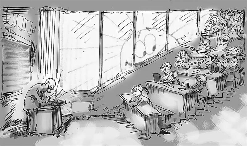 Где учить оболтусов?