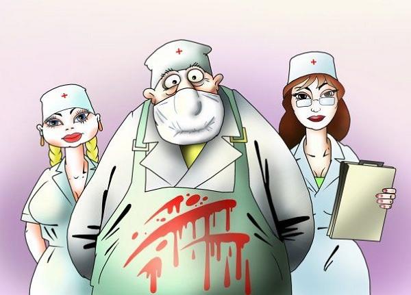 Смешные картинки про врачиху