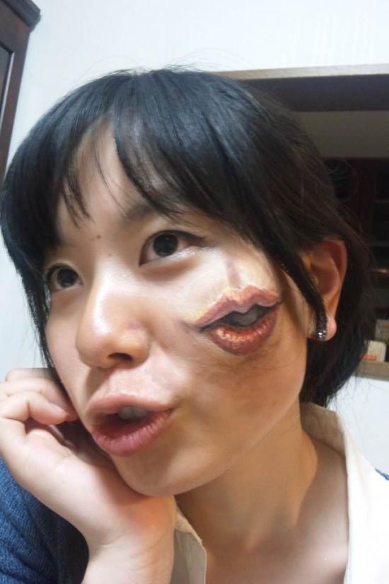 lip-face