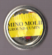 Ground Cumin Jar