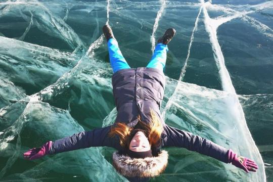 Фото, которое невозможно не сделать, побывав на Байкале