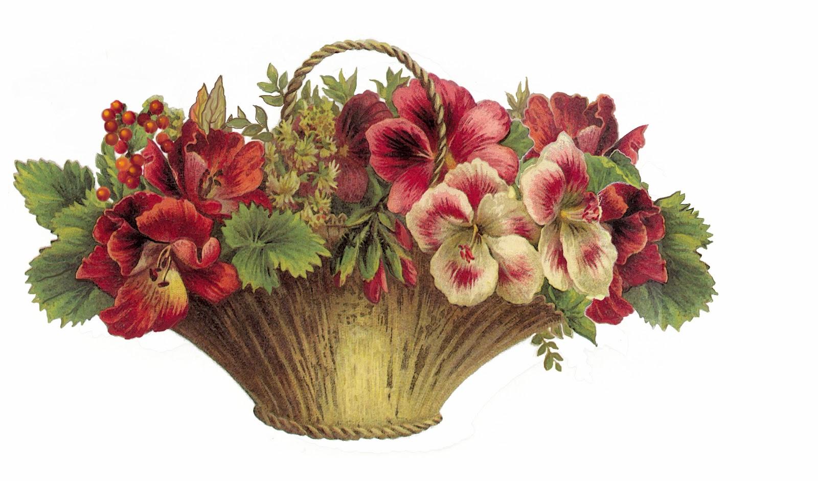 flowerbasketred