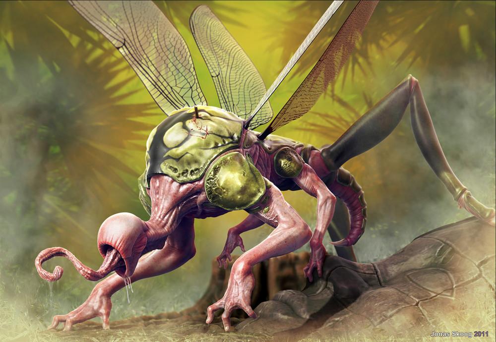 fantasy-art-jona-skoog-jungle-monster