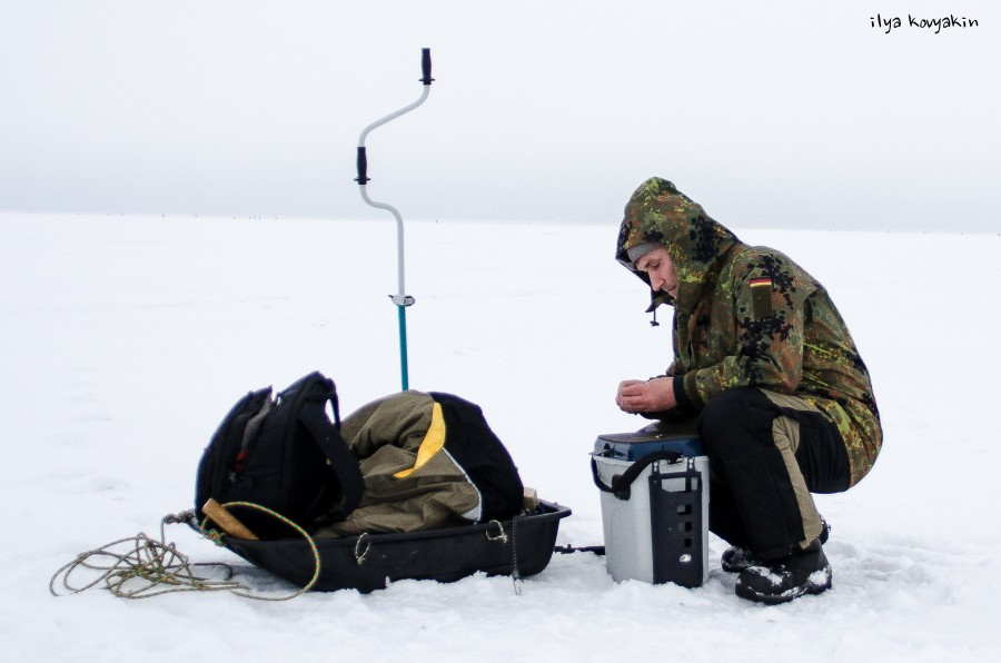 как застигнуть корюшку во  прямо-таки рыбалка