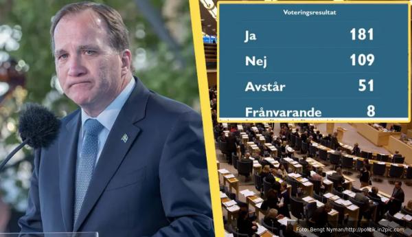 Screenshot 2021-06-21 at 12-05-53 KLART Löfven sparkas av riksdagen - regeringen faller – Samnytt