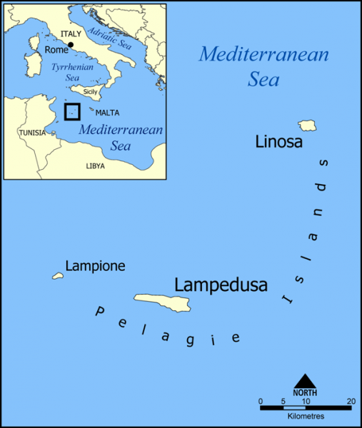 Pelagie_Islands_map