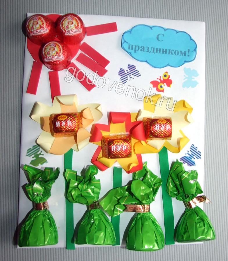 Подарки воспитателям к 8 марта своими руками
