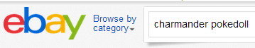 ebay 1 search bar