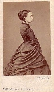 1870 ca. Cecile of Baden, Grand Duchess Michael of Russia