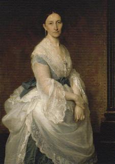 1871 Baroness von Derwies by Alexandre Cabanel