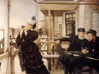 1873 The Captain's Daughter by Tissot