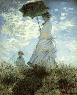 1875 Parasol by Monet