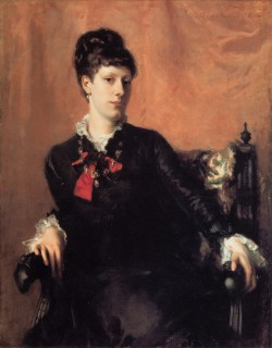 1877 Fanny Watts by Sargent