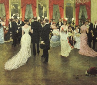 1878 The Evening Party by Beraud