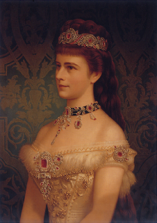 1879 Empress Elisabeth closeup