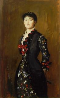 1879 Louise Jopling by Millais