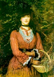 1874 Eveleen Tennant by Millais