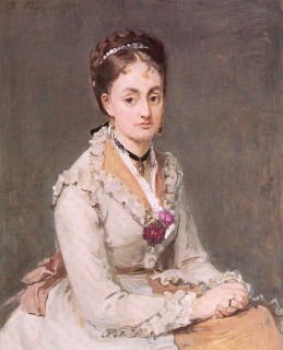 1870 Portrait of Edma (The Artist's Sister) by Morisot