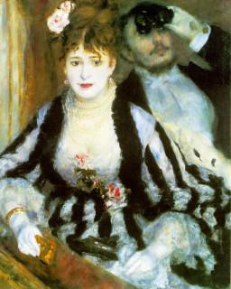 1874 La Loge (The Theater Box) by Renoir