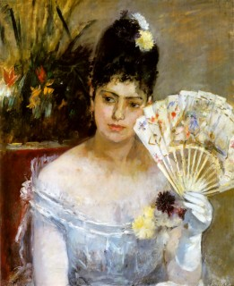 1875 At the Ball by Morisot