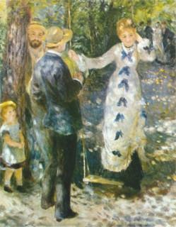 1876 La Balancoire by Renoir