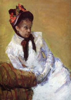 1878ca. Portrait of the Artist by Cassatt