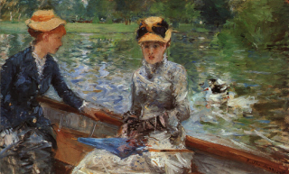1879 A Summer's Day by Morisot