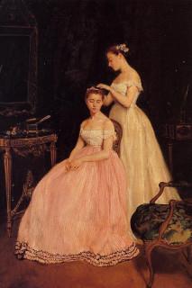 1879 La Toilette by Gonzales