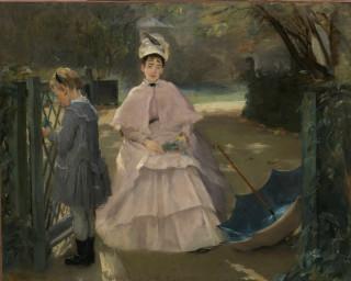 1877-1878 Nounou avec enfant by Gonzales