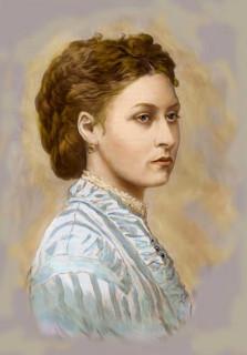 1870ca. Princess Louise painting