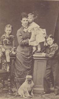 1879 ca. Maria Feodorovna in Sankt Petersburg